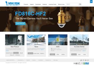 w3.vivotek.com screenshot