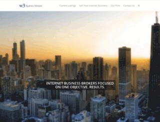 w3businessadvisors.com screenshot