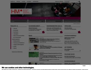 w3gs-n.hm.edu screenshot