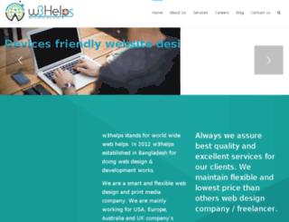 w3helps.com screenshot