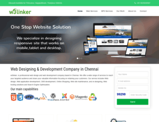 w3linker.com screenshot