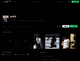 w4b.deviantart.com screenshot