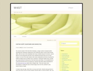 w4st.org screenshot