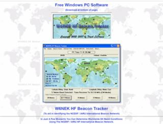 w6nek.com screenshot