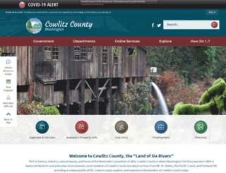 wa-cowlitzcounty.civicplus.com screenshot