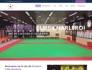 wa-jutsu-charleroi.be screenshot