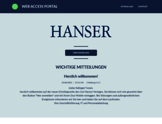 wa.hanser.de screenshot