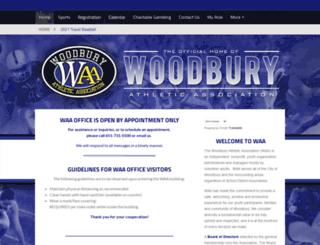 waawoodbury.org screenshot