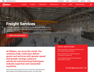 wabtecglobalservices.com screenshot