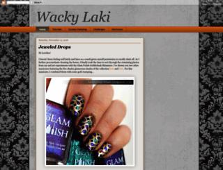 wackylaki.blogspot.com screenshot