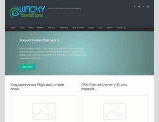 wackytechtips.com screenshot
