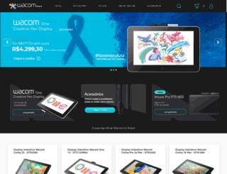 wacomstore.com.br screenshot