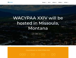 wacypaa.org screenshot