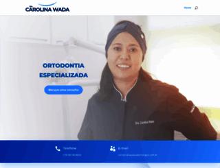 wadaodontologia.com.br screenshot