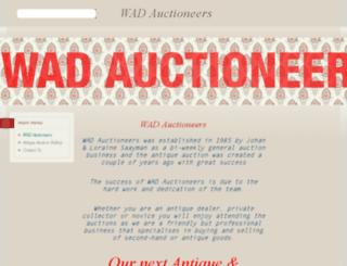 wadauctioneers.co.za screenshot