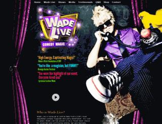 wadelive.com screenshot