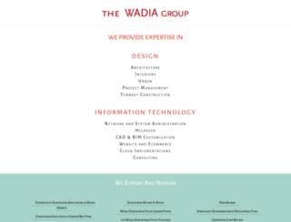 wadias.in screenshot