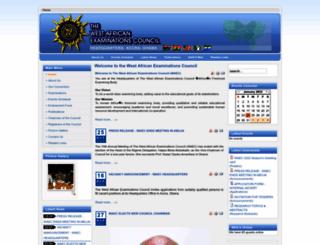 waecheadquartersgh.org screenshot