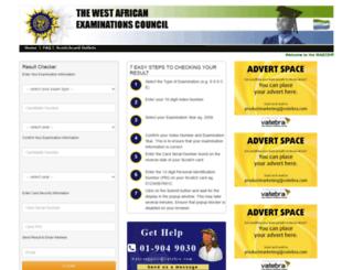 waecsierra-leone.org screenshot