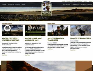 wafwa.org screenshot