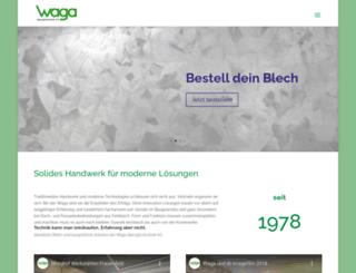 waga.ch screenshot