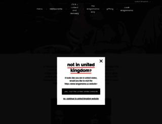 wagamama.com screenshot
