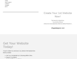 wagedesigner.com screenshot