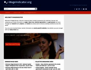 wageindicator.org screenshot