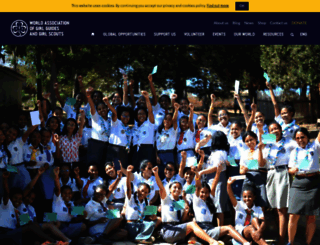 wagggs.org screenshot