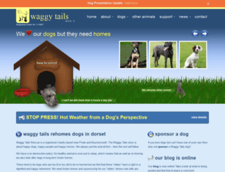waggytails.org.uk screenshot