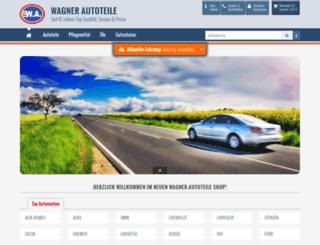 wagner-autoteile.de screenshot