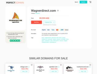 wagnerdirect.com screenshot