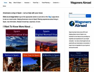 wagonersabroad.com screenshot