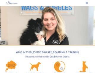 wagsandwiggles.com screenshot