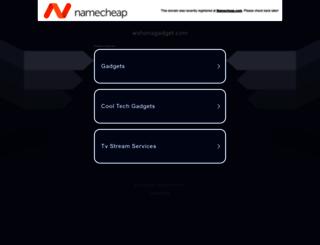 wahanagadget.com screenshot