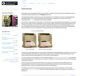 wahlcomputer.ccc.de screenshot