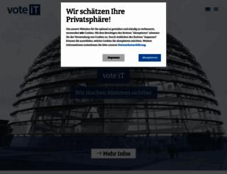 wahlinfo.de screenshot