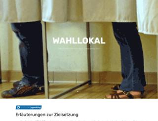 wahllokal.it screenshot