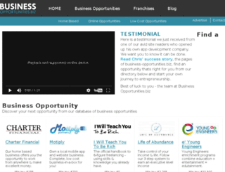 wahm.business-opportunities.biz screenshot