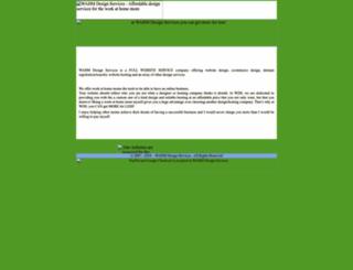 wahmdesignservices.com screenshot