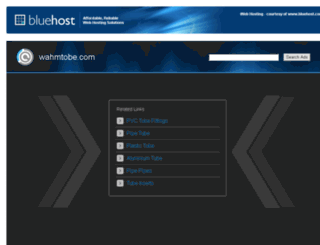 wahmtobe.com screenshot