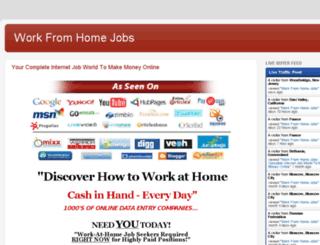 wahonlinejob.com screenshot