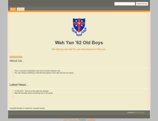 wahyan62.org screenshot