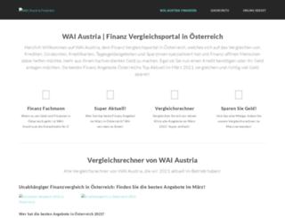 wai-austria.at screenshot