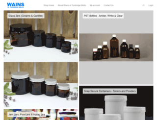 wains.co.uk screenshot