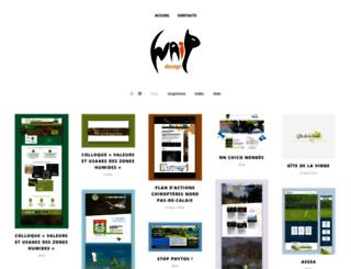 waipdesign.fr screenshot