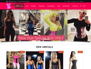 waisttrainer.ca screenshot