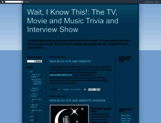 waitiknowthis.blogspot.com screenshot