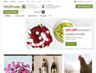 waitrosedeliver.com screenshot
