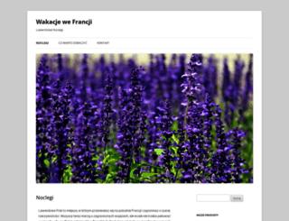 wakacje-we-francji.pl screenshot